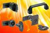 "Elesa ""V0"" certified quarter-turn latches, locks and bridge handles"
