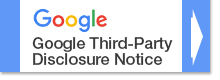 Google Third Party Disclosure Notice