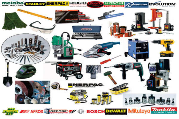 Enerpac Cylinders, Power Tools, Bosch Power Tools, Gedore Tools, FEW Cutting Tools