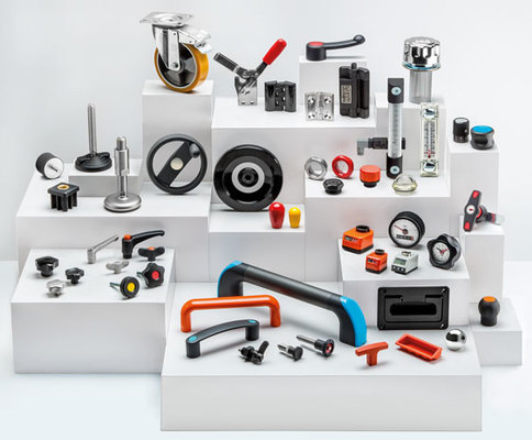 Plastic and metal standard machine parts from Elesa for the mechanical engineering industry