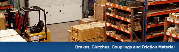 Brakes, Clutches, Couplings and Friction Materials