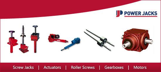 Screw Jacks, Linear Actuators, Gearboxes, Roller Screws