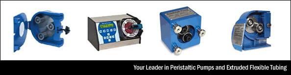Peristaltic Pumps, Extruded Flexible Tubing