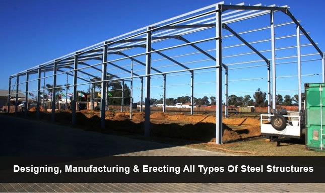 Structural Steel Manufacturers, Industrial Steel Buildings