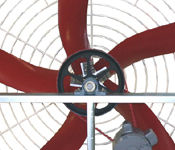 Next gen industrial fiberglass fans for cooling towers and heat exchangers.
