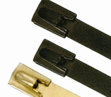 316 Stainless Steel Ties, Non magnetic, Smooth edges, Self Locking