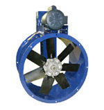 Our paint booth exhaust fans offer 3 or 1 phase TEFC motors with a 1 year warranty.