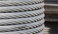 Steel Wire Rope Ltd have specialised in supplying multi stranded galvanised steel wire rope since 1989