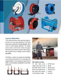 Hose reels for all applications