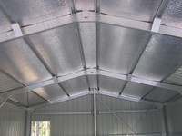 WEP Engineering supply Roof Insulation with our Steel Building Structures.