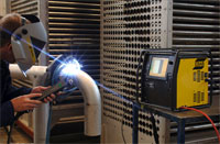 Orbital welding is the process for welding tubes and pipes. Often used in the pharmaceutical, chemical or food processing machinery industries