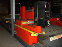 A plasma cutter is a type of cutting torch that is clean and efficient.