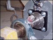 The HB screw conveyor seals replace standard wastepack housings.