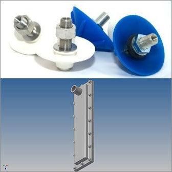 Aeration Pads, Aerator Pads, Airbrators, Vibrator Cones, Flow Pads