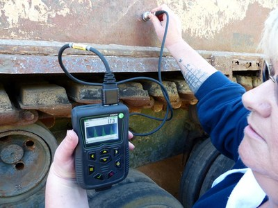 Cygnus' most advanced NDT ultrasonic thickness gauge