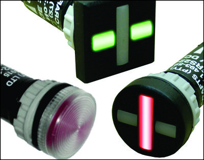 LED Indicators, Pilot Lights & Semaphores