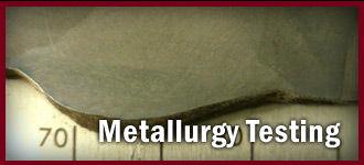 Metallurgy Testing