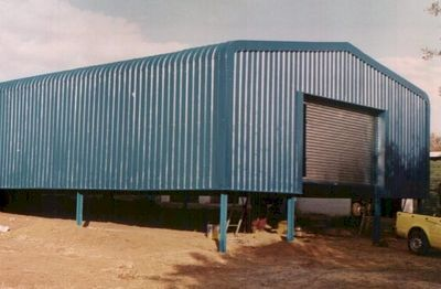 Enclosed Steel Structures, Steel Structures, Steel Structure Manufacturers, Steel Frame Structure