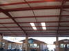 Steel Structures with Polycarbonate and Alucushion Insulation
