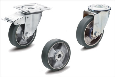 New ESD range of castors and wheels from Elesa for sensitive and hazardous areas