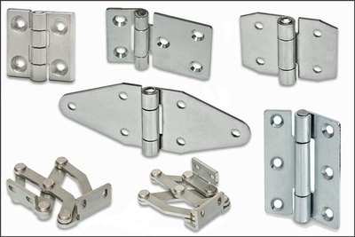 New stainless steel hinges in AISI 304 grade from Elesa UK