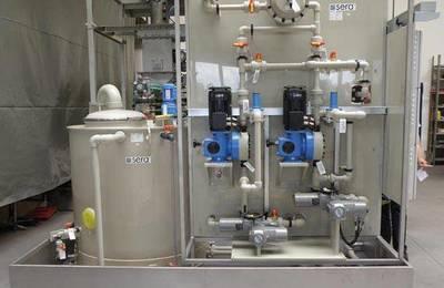 Technical Publication: Preparation- and dosing station for flue gas desulphurisation