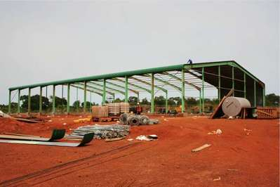 Ivory Coast Steel Building Structures