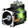 Closed-Loop Integrated Stepper Motors feature  magnetic or absolute encoder feedback