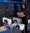 Refrigerant flow sensors help keep data storage cool